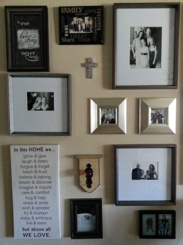 Photo Wall at Team Tait House