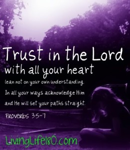 Proverbs 3:5:7 - Trust in the Lord